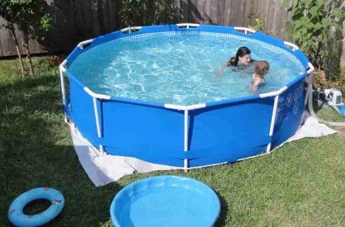 fémvázas medence