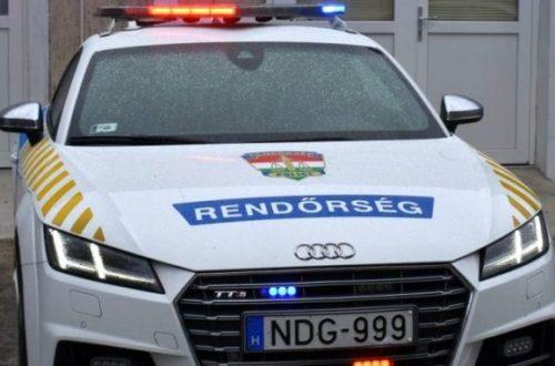 friss rendőrségi hírek Győr