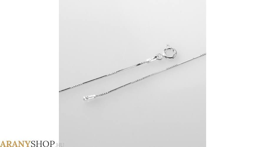 női ezüst nyaklánc